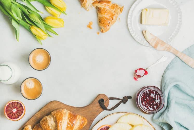 livraison de petits déjeuners en entreprises sur Paris et Ile de France