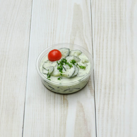 mini-salade-concombres-à-la-crème