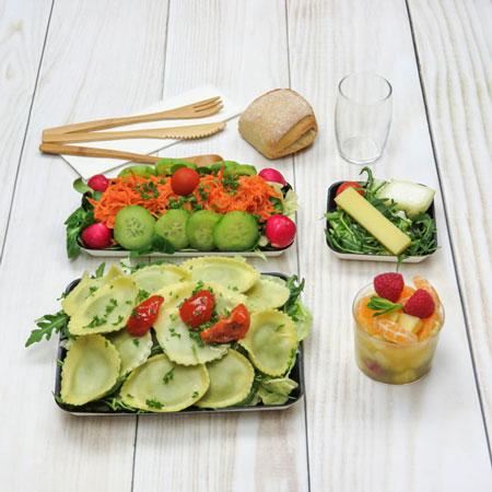 plateau-repas vegetarien
